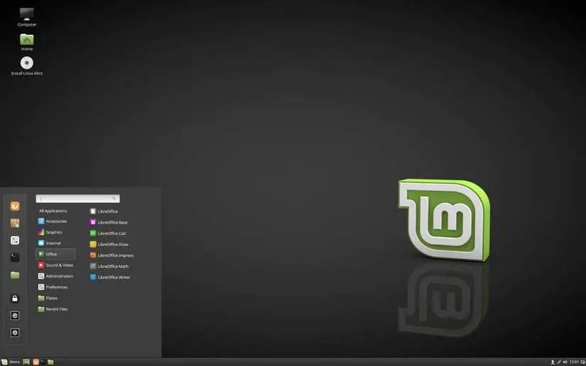 linux mint 18.2 cinnamon dark theme