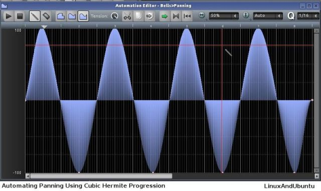 lmms automating panning using cubic hermite progression