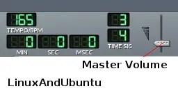lmms linuxandubuntu master volume