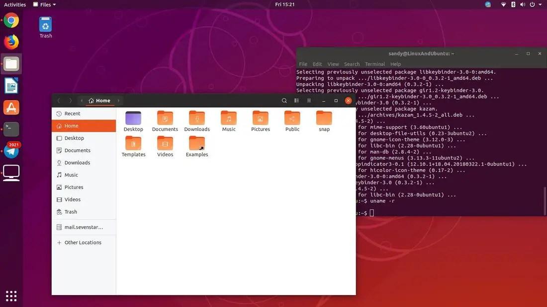 new yaru theme in ubuntu 18.10