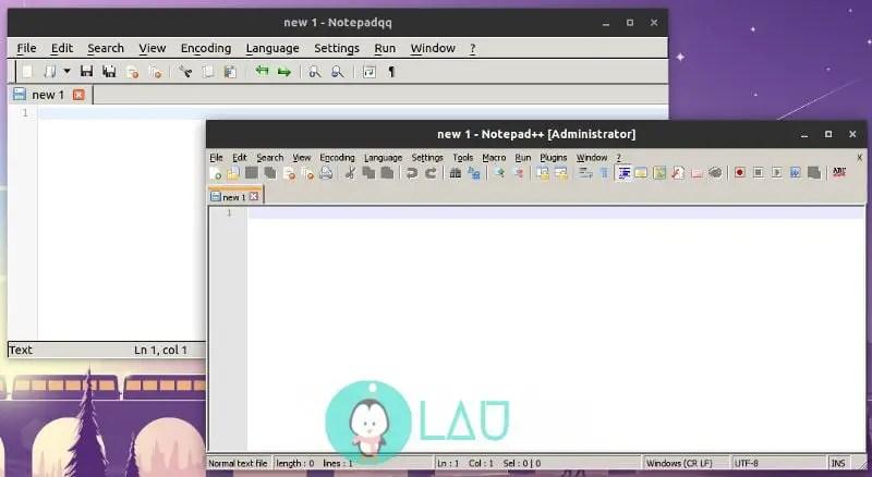 notepadqq notepad++ alternative