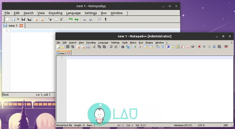 notepadqq notepad++ alternative