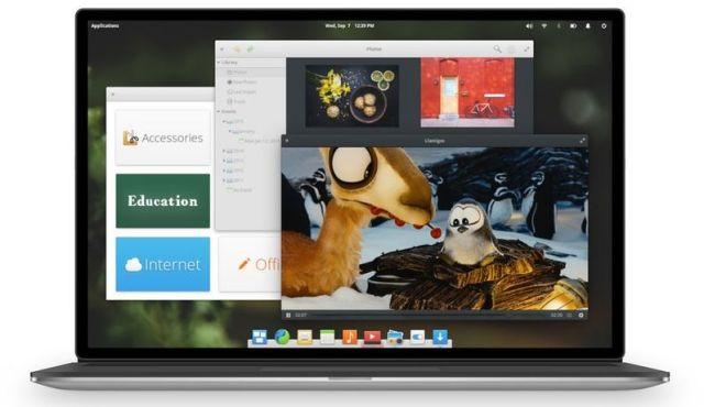 pantheon desktop environment