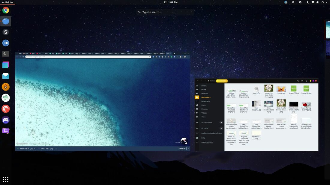 ubuntu desktop workspaces