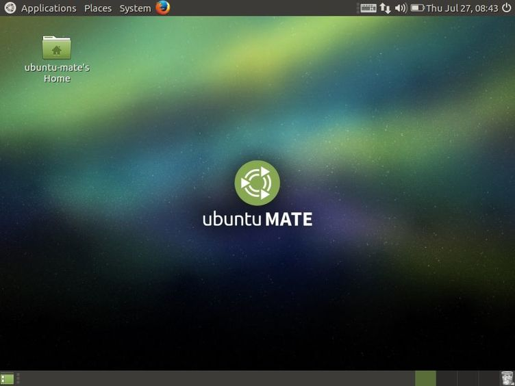 ubuntu mate desktop screen