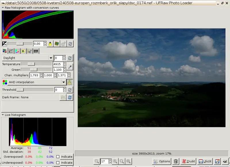ufraw image editing software