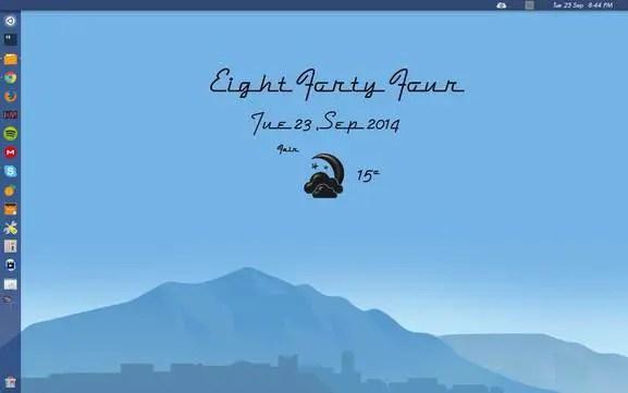 wheather conky for ubuntu linux