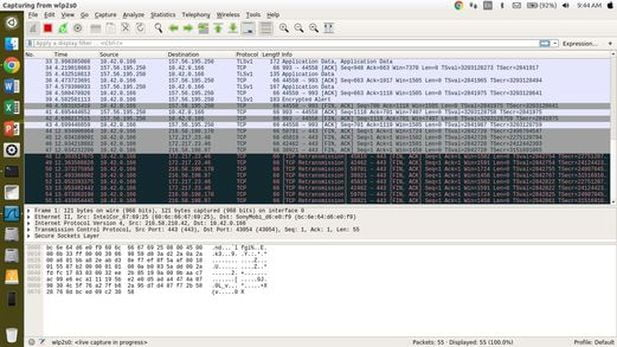 wireshark network monitoring tool