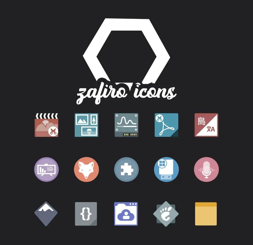 zafiro icons gnome theme