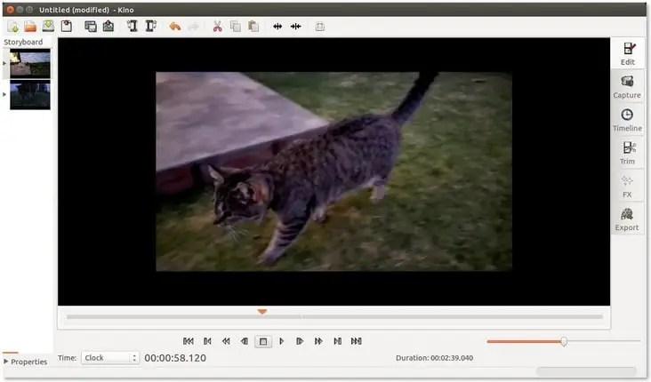 Kino video editor
