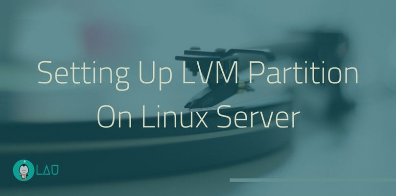 Setting Up LVM Partition On Linux Server