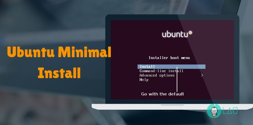 Ubuntu minimal install