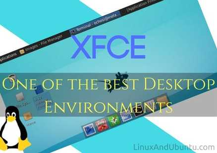 XFCE Linux Desktop environment