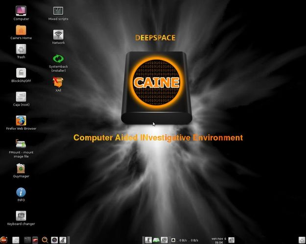 caine linux distro for security pentesting