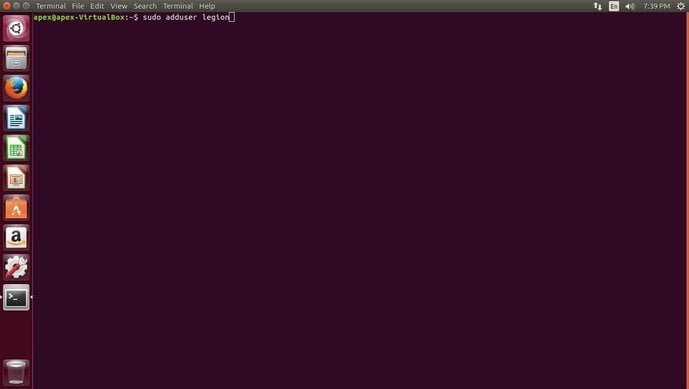 create new user in linux on cli