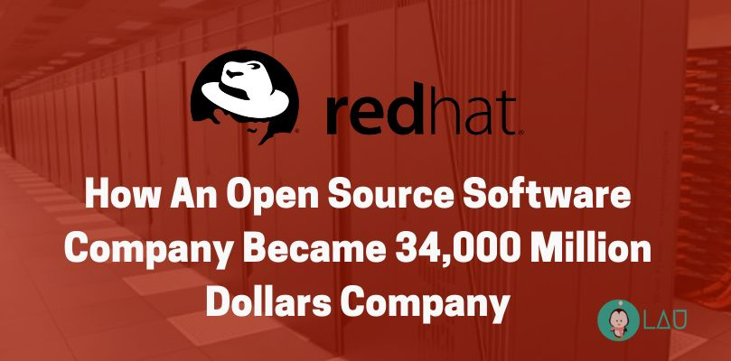 how red hat became million dollars company