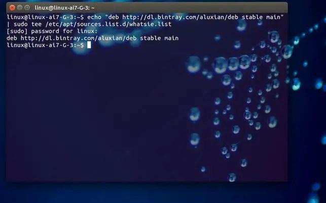 install & use whatsapp in ubuntu