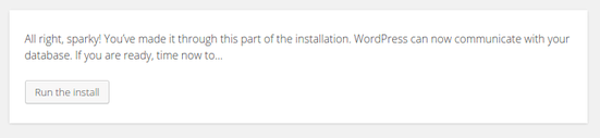 install wordpress on web host linux