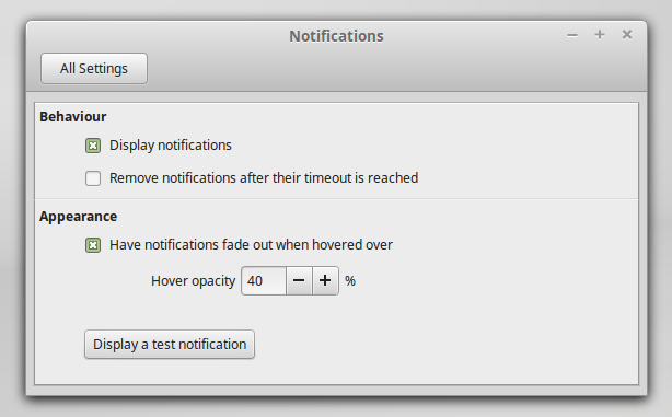 linux mint 17.1 nemo cinnamon notification