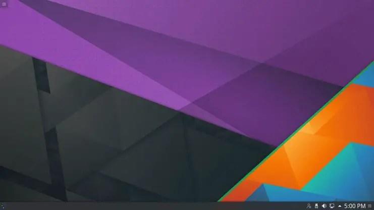 linux mint kde desktop