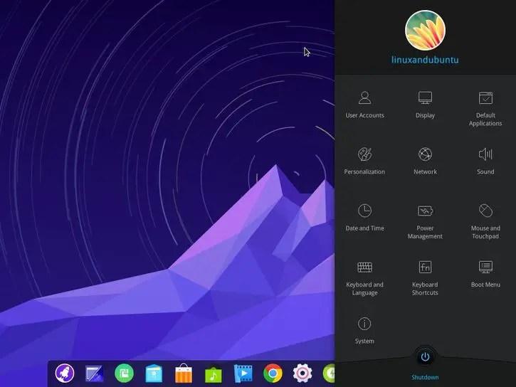 linuxandubuntu deepin os desktop