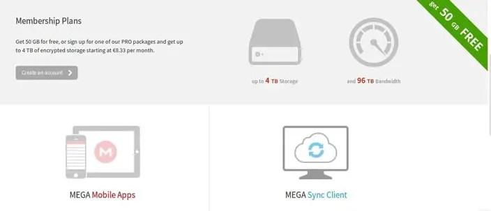 mega cloud storage linux client