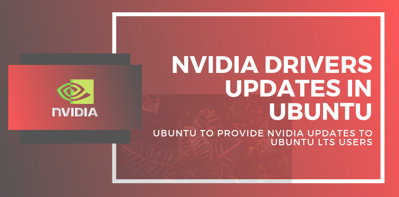 nvidia drivers updates in ubuntu