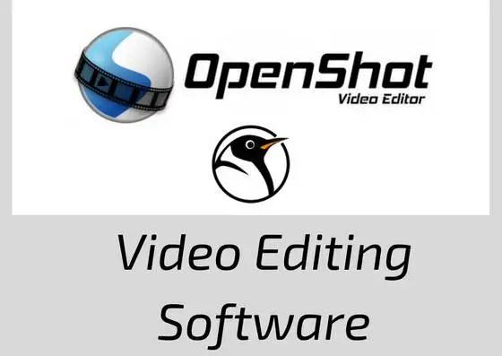 openshot Video Editing Software