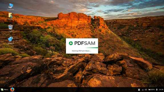 pdfsam pdf split and merge for linux