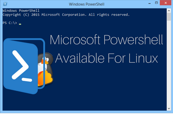 powershell is now available for linux
