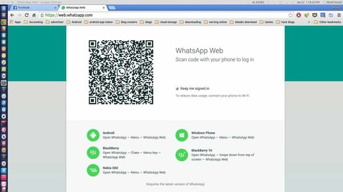whatsapp web for Linux pc or chromebook