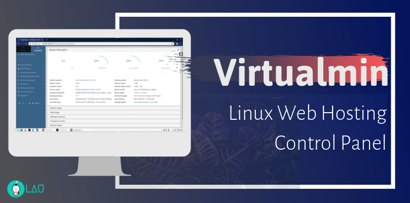 virtualmin web hosting control panel