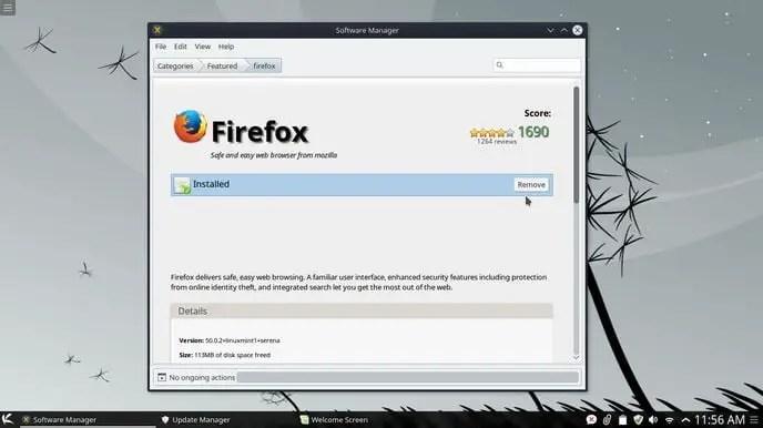 install firefox in linux mint kde