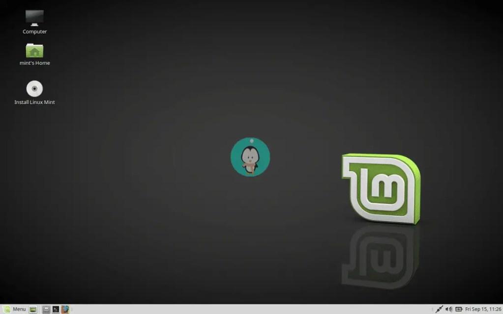 Linux Mint with MATE Desktop