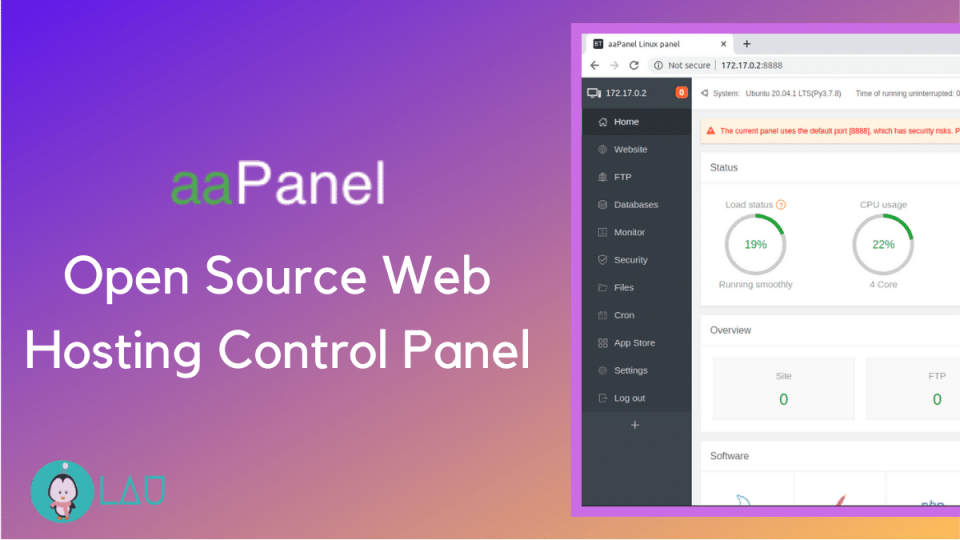 aaPanel free open source control panel