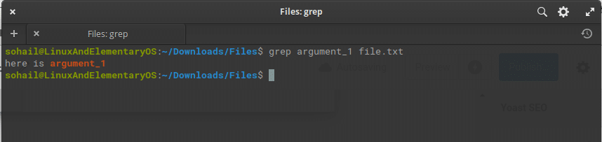 Grep Command-Linux Command Guide