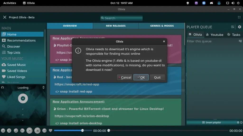 Download Olivia engine