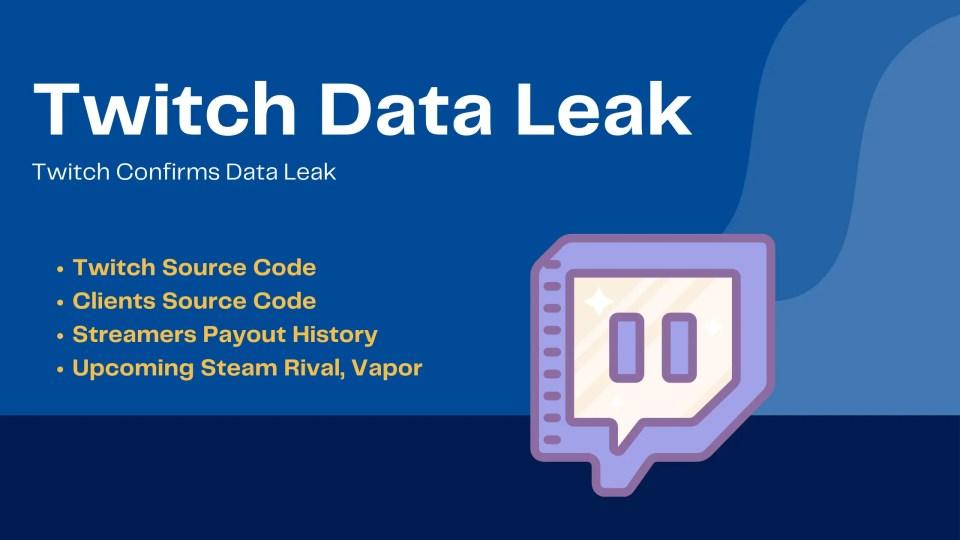 Twitch data leak