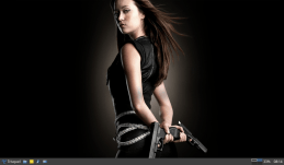 Summer Glau as the Terminator. It's been 10 years since they announced the show at SDCC.