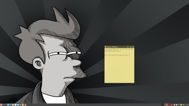 Futurama Fry Desktop