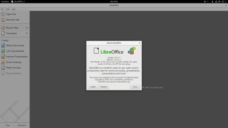 Libre Office 6.0.1.1