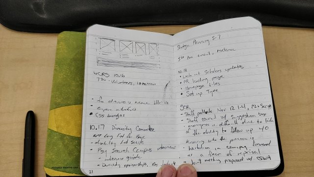 Rapid Logging & Daily Log Field Notes notebook