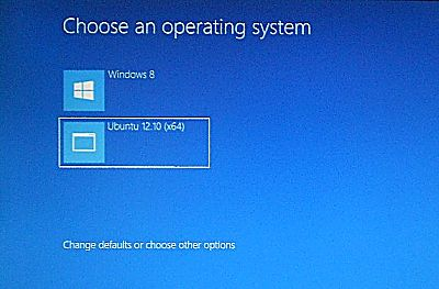 Windows 8 Boot Menu