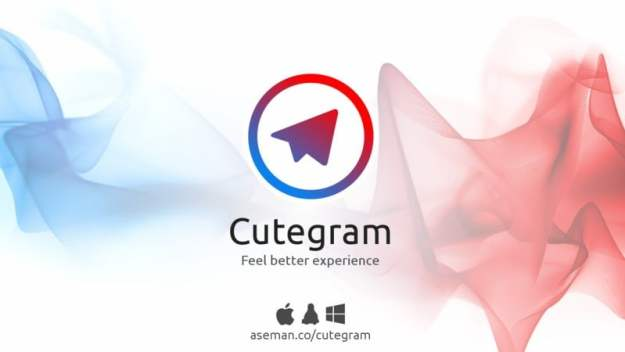 LinuxForum.hu Cutegram - jobb mint az eredeti Telegram Security desktop chat