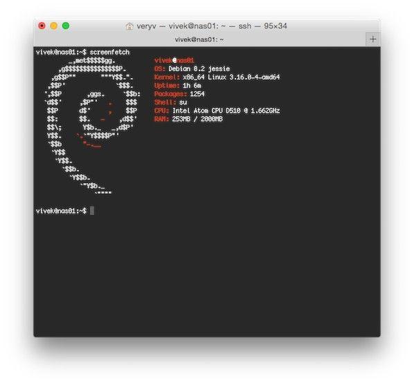 LinuxForum.hu ASCII art a terminálban Terminal System info ASCII