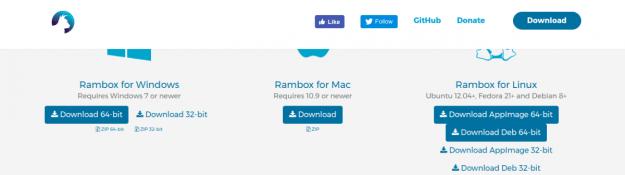 LinuxForum.hu Üzenetküldés Linux desktopról ? Rambox! Whatsapp Rambox Messenger Facebook Desktop kliens
