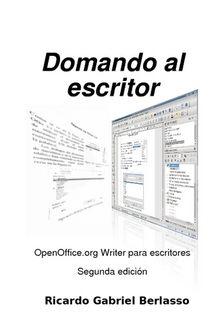 Domando al escritor, manual sobre OpenOffice Writer