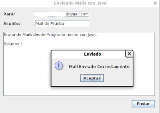 Enviar Mails con Java 1
