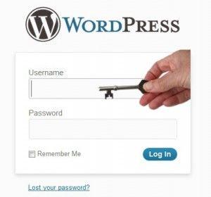 WordPress administrador