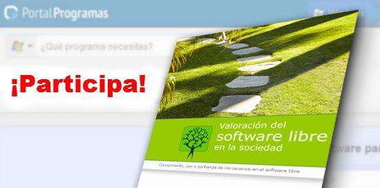 Participa Valoración Software Libre